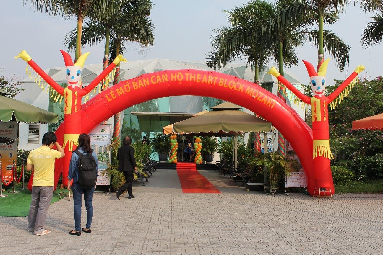 Lễ mở bán được diễn ra tại khu nhà mẫu The Art