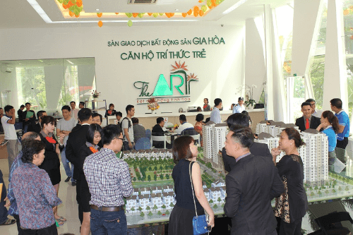Khách hàng tham dự mở bán tháp C3 - block Mozart.