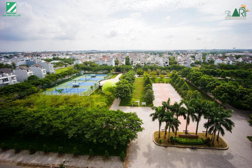 Hình ảnh Gia Hòa Park nhìn từ block Beethoven